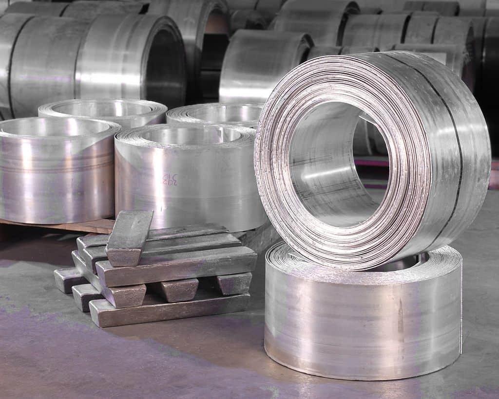Aluminium sheets and ingots