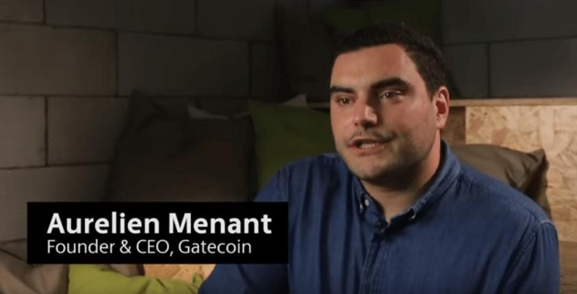 Aurelien Menant - Gatecoin Exchange
