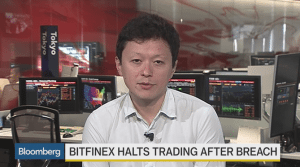 Bitfinex hack interview on Bloomberg