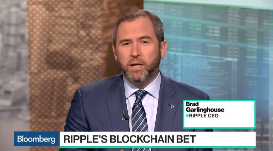 Brad Garlinghouse - Ripple CEO on Bloomberg
