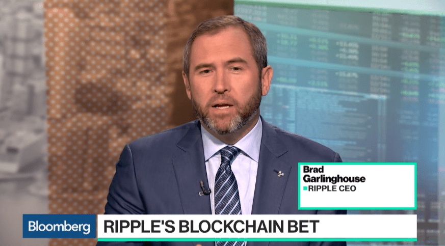 Brad Garlinghouse - Ripple CEO on Bloomberg