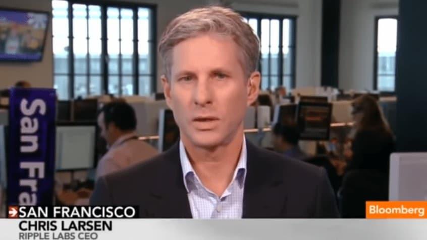 Chris Larsen - CEO Ripple Labs via Bloomberg