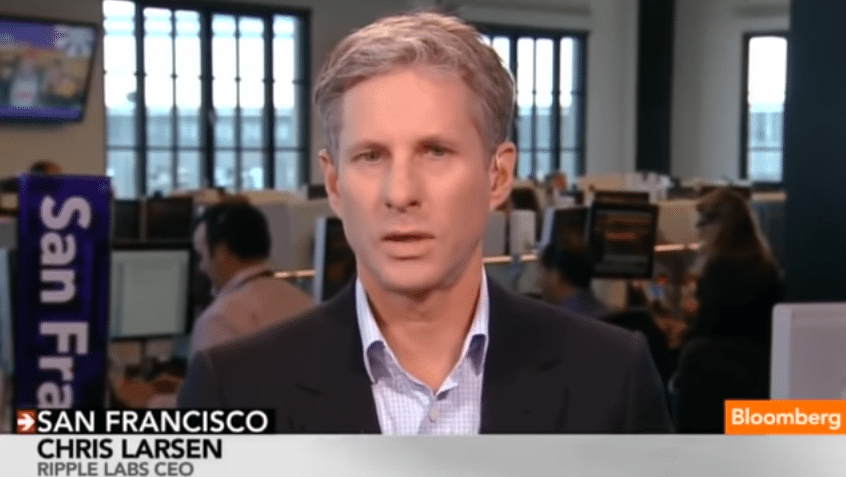 Chris Larsen - CEO Ripple Labs via Bloomberg