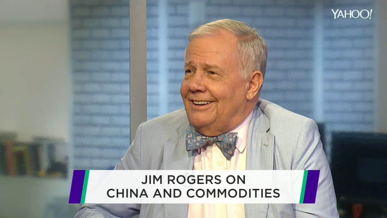 Jim Rogers appears on Yahoo finance