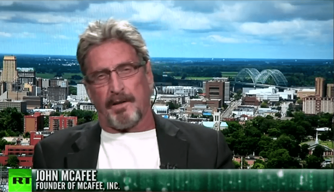 John McAfee on Russia Today