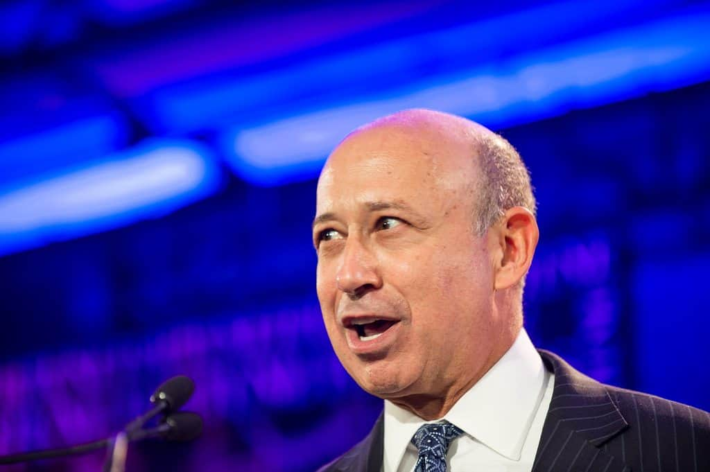 Lloyd Blankfein CEO of Goldman Sachs