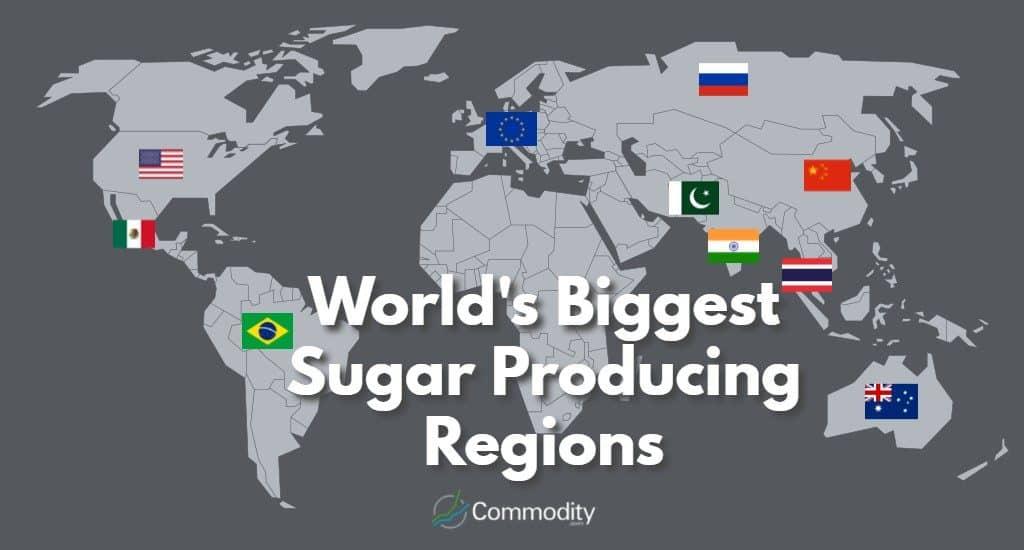 World's Biggest Sugar Producing Regions