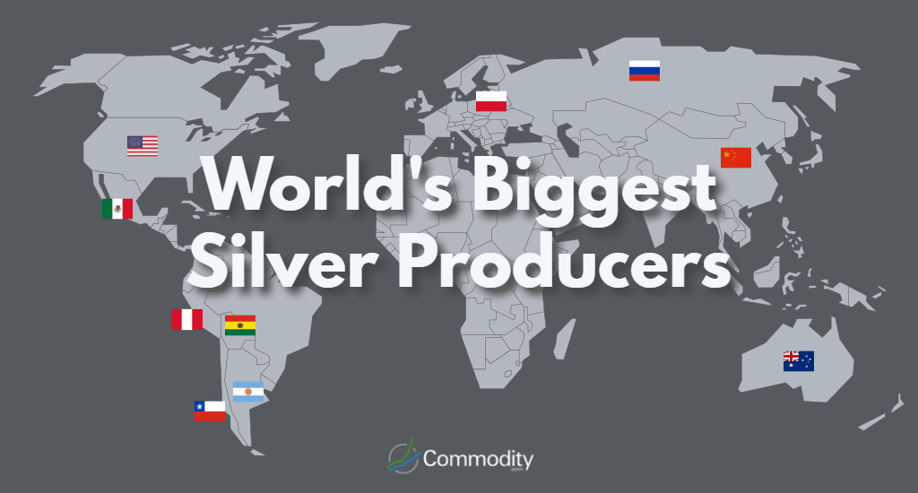 World's Biggest Silver Producers map
