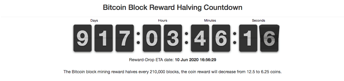 bitcoin block countdown