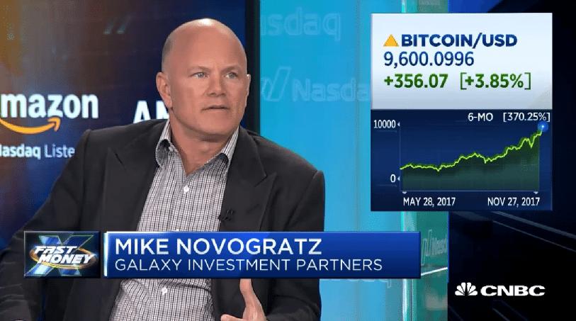 Mike Novogratz on CNBC