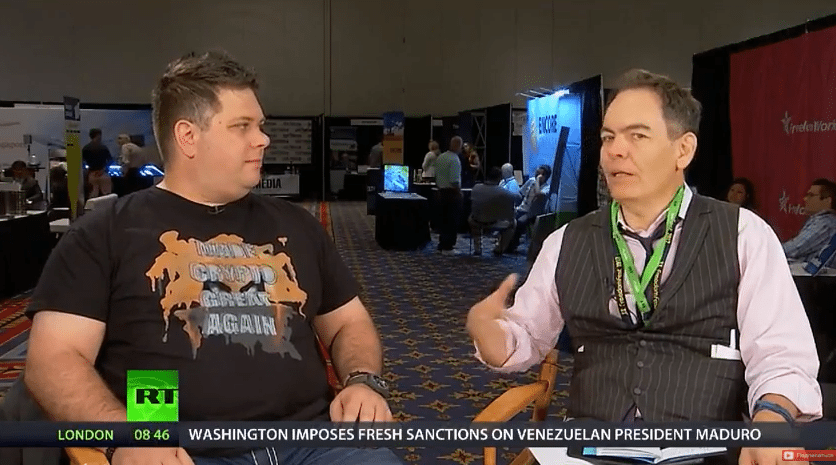 Riccardo Spagni from Monero on RT with Max Keiser