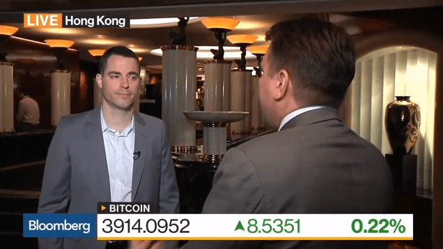 Roger Ver interviewed by Bloomberg