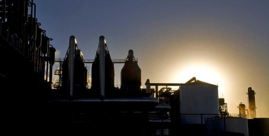 Factory Produces Ethanol from Sugar