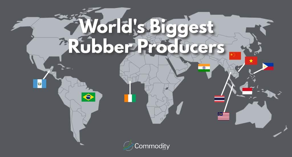 World's biggest rubber producers.