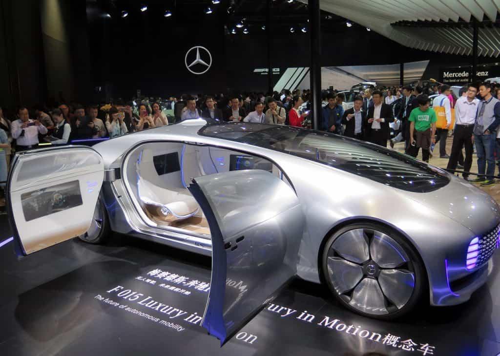 Autonomous concept Car in China