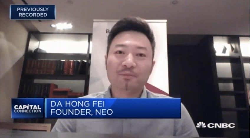 DA Hong FEI - NEO via CNBC