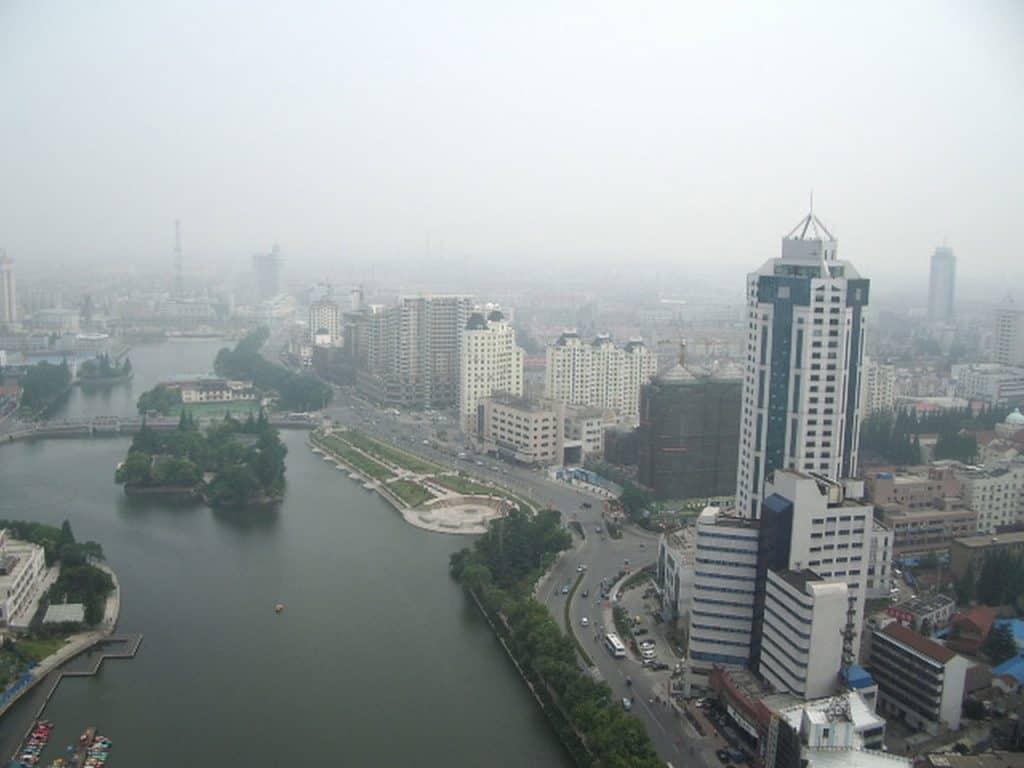 Environmental Pollution Nantong China