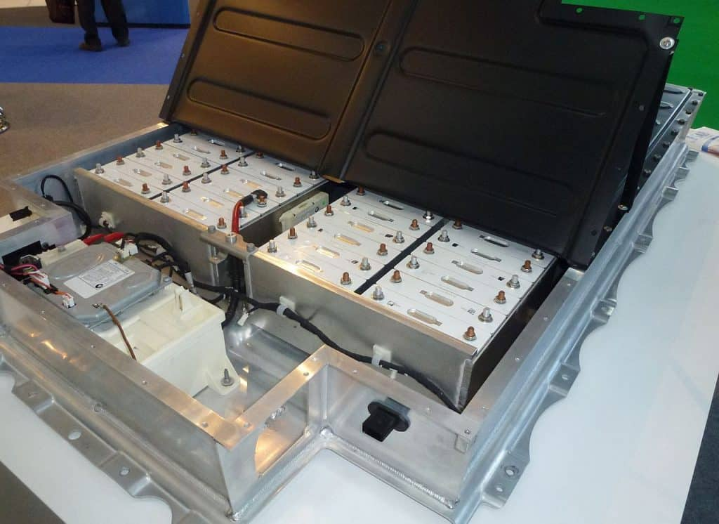 Lithium Ion Battery for BMW i3-Battery Pack via Wikimedia