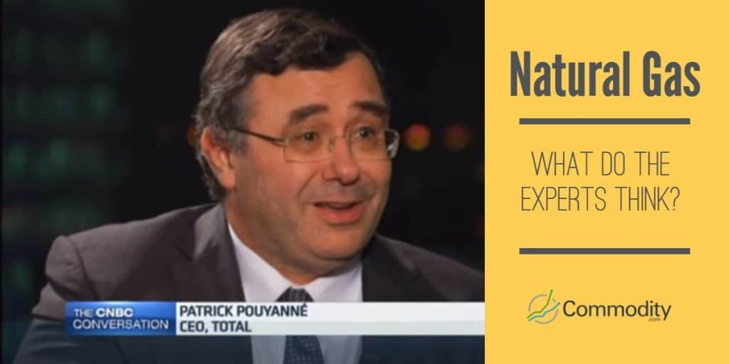 Natural Gas experts Patrick Pouyanne, CEO of Total SA