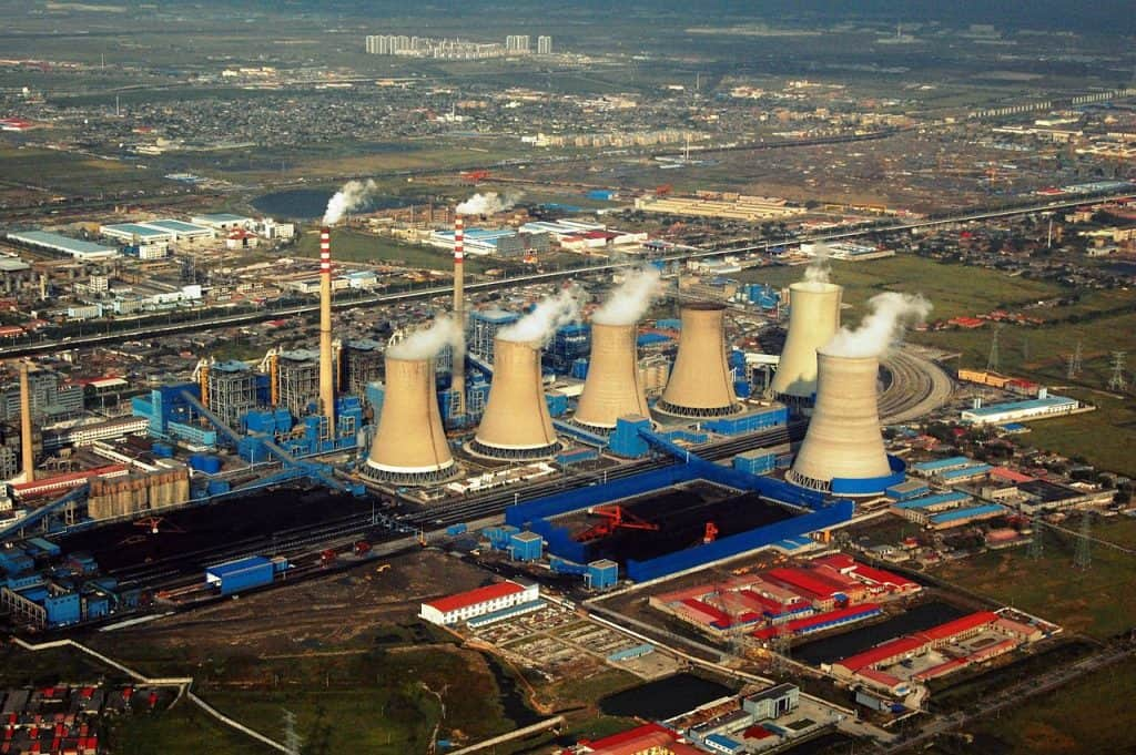 Power Plant Tianjin China via Wikimedia