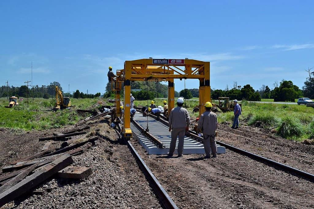 Railway Construction via Wikimedia