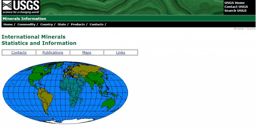 USGS website