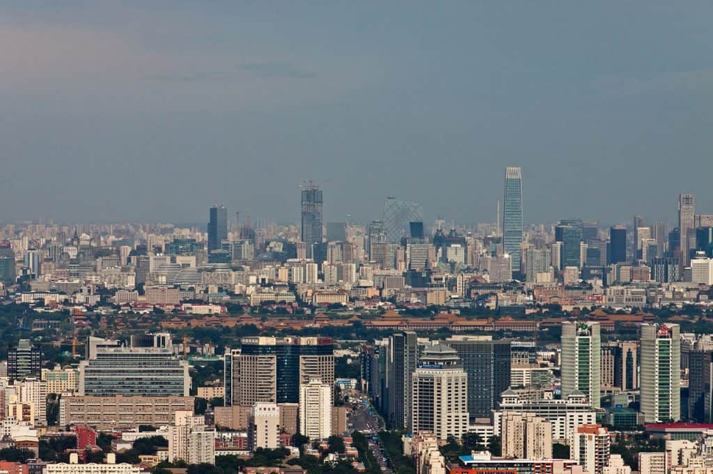 View of Beijing via Wikimedia