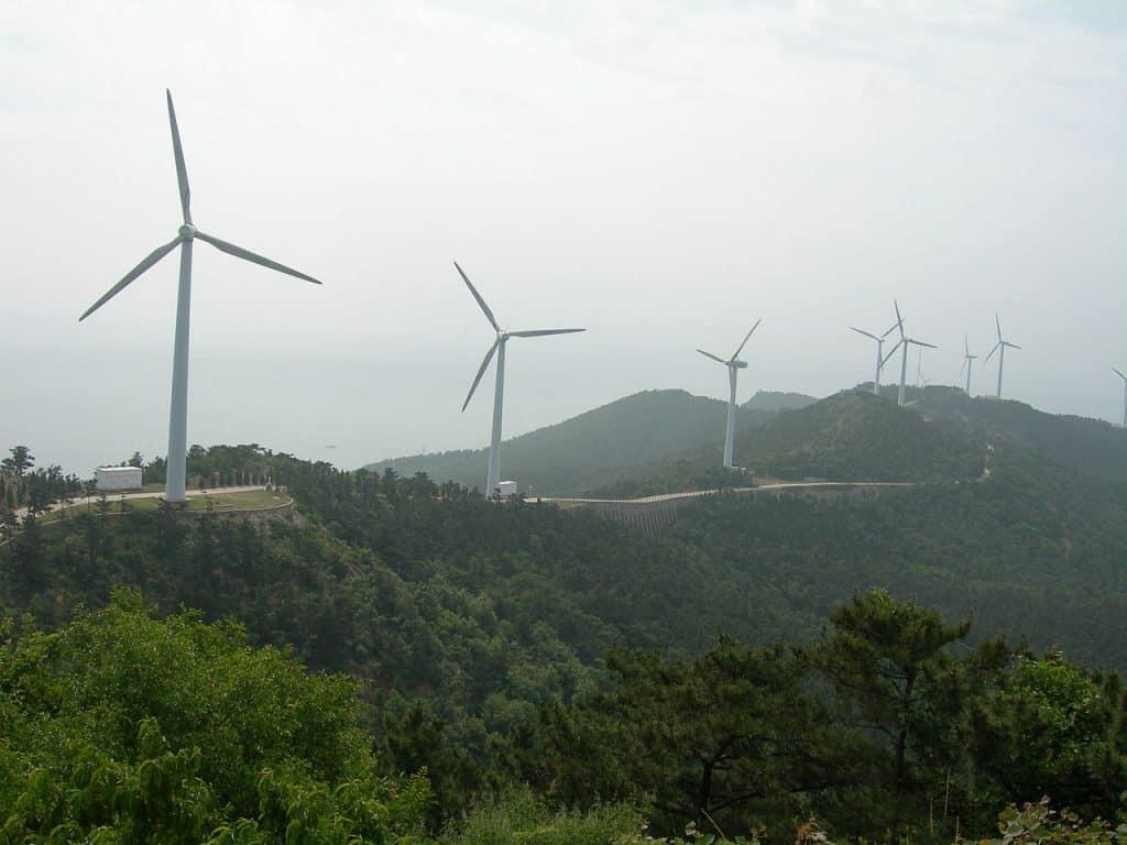 Wind Power China via Wikimedia