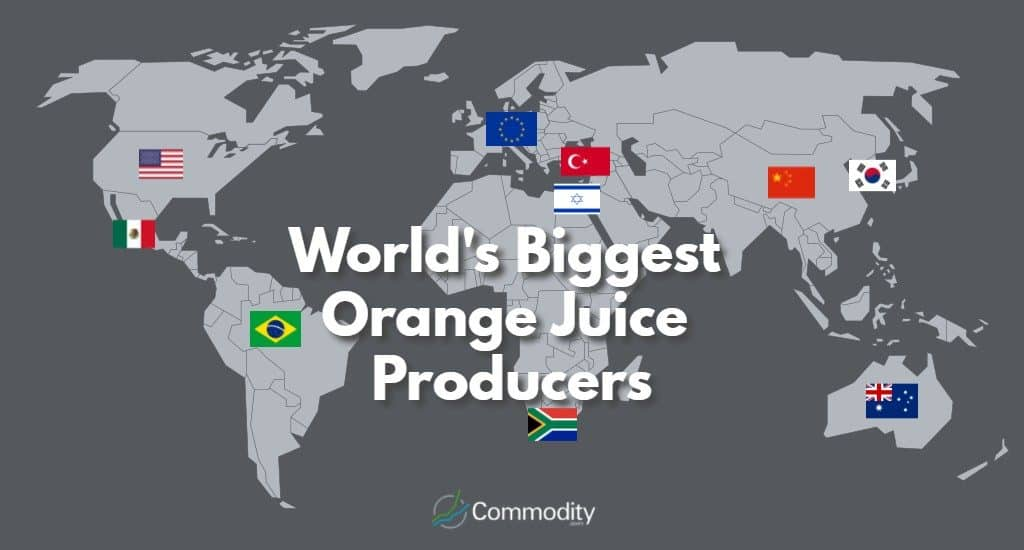 World's Biggest Orange Juice Producers