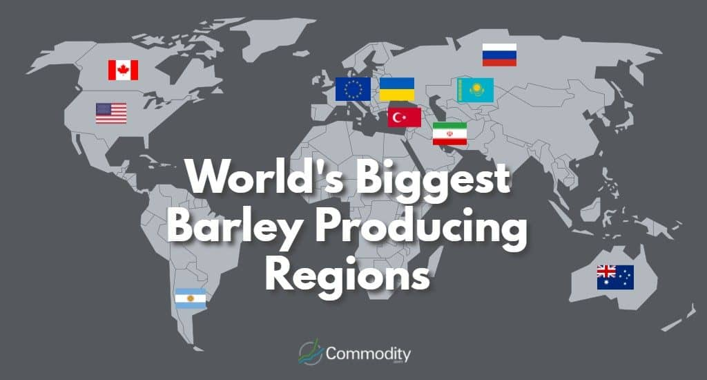 World's Biggest Barley Producing Regions