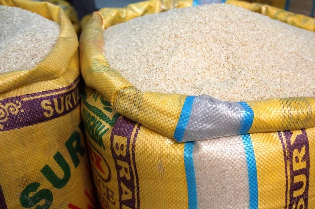 rice sacks via pixabay
