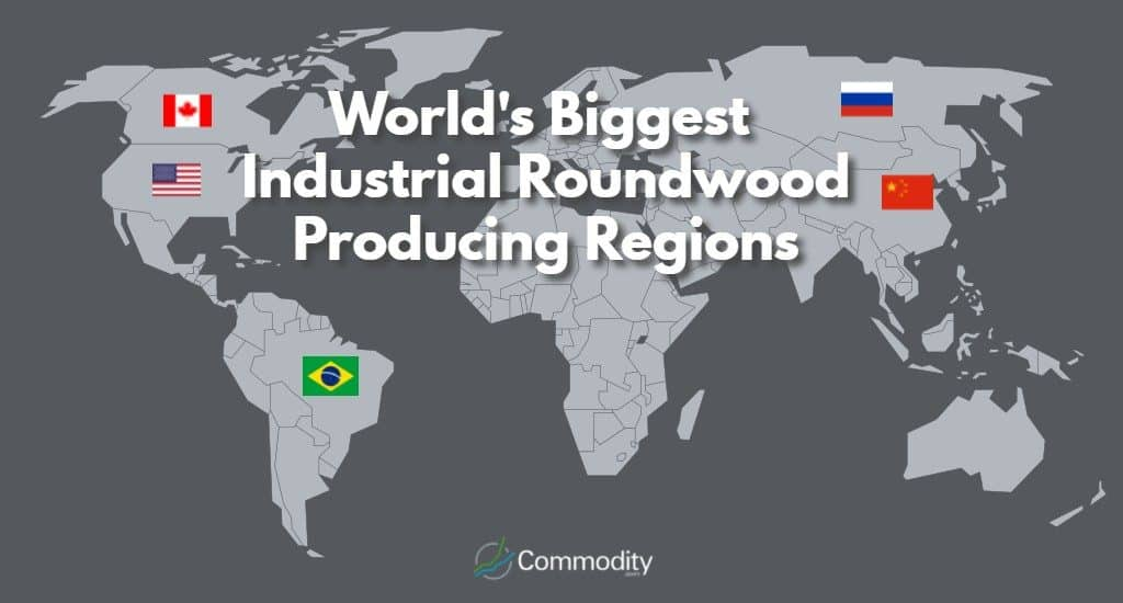 world's biggest industrial roundwood producing countries