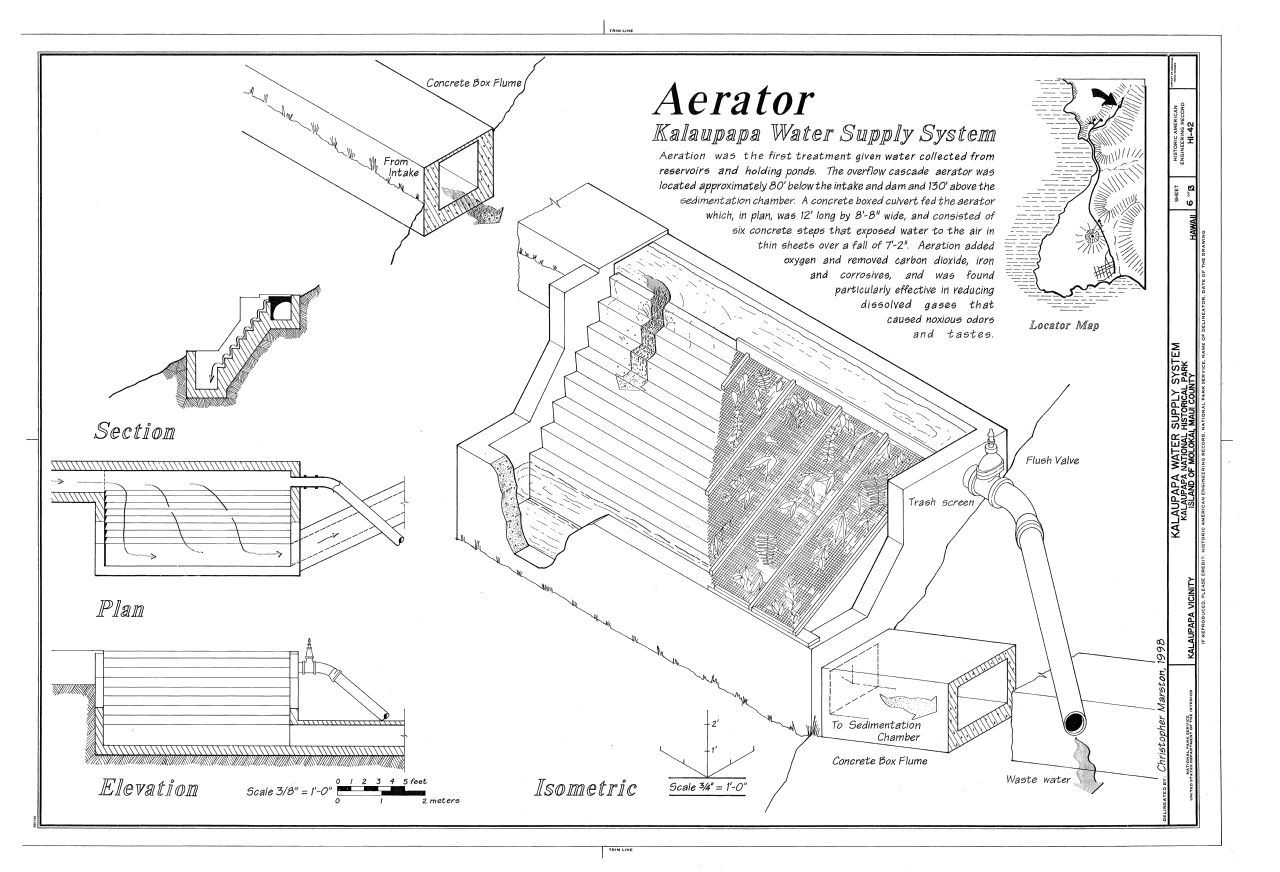 Aerator - Kalaupapa Water Supply System via Wikimedia