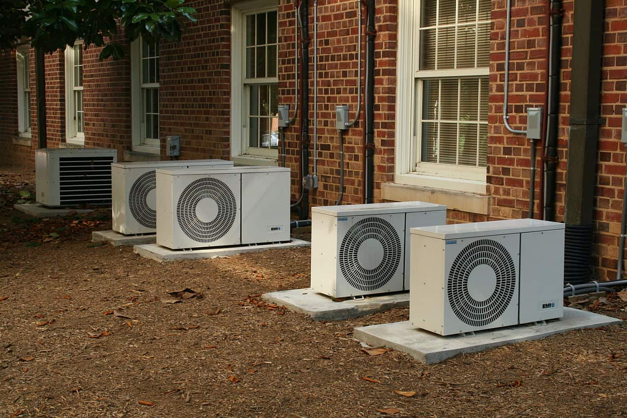 Air Conditioners via Ildar Sagdejev on Wikimedia