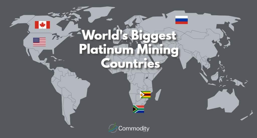 Biggest Platinum Producing Countries