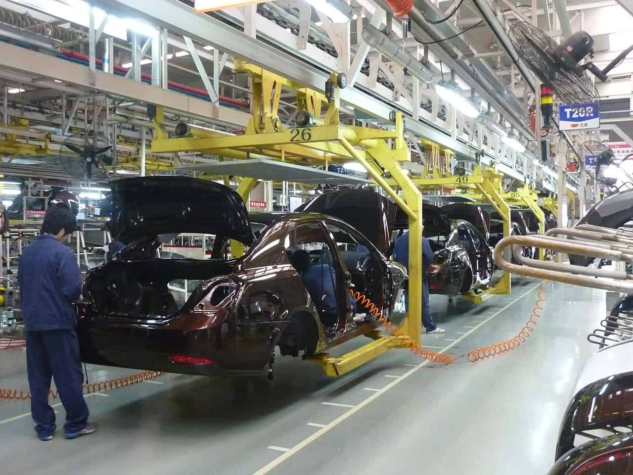 Vehicle Assembly Line in Beilun, Ningbo