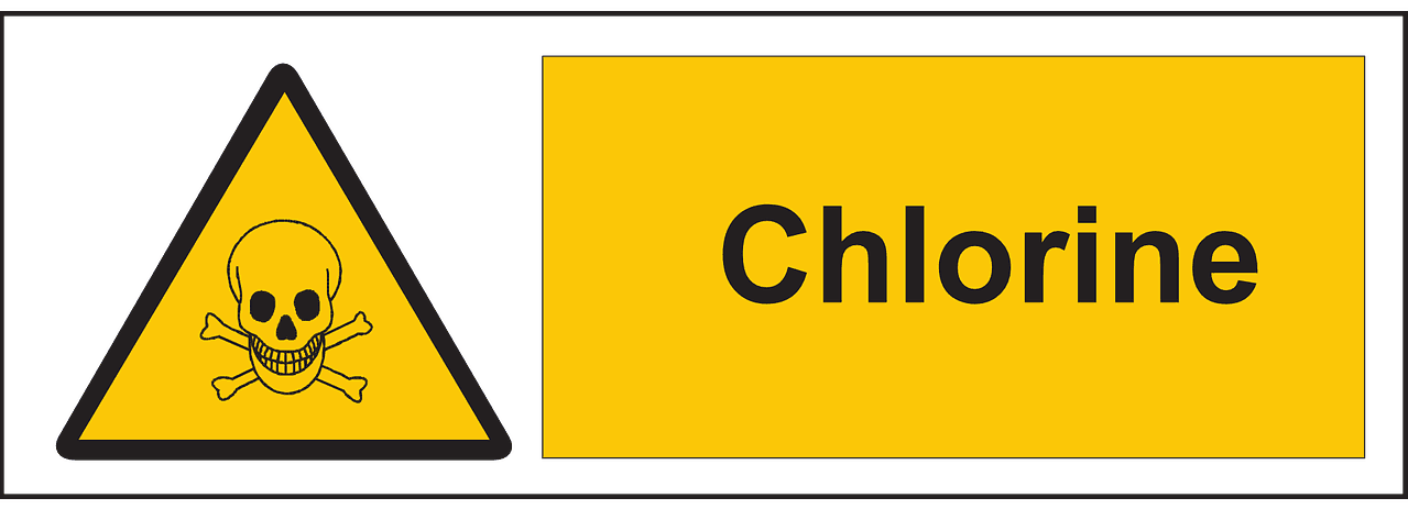 Chlorine Safety Sign via Pixabay