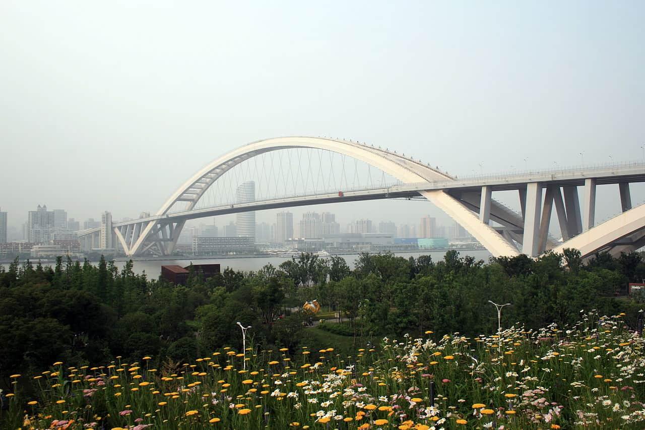 Lupu Bridge Shanghai