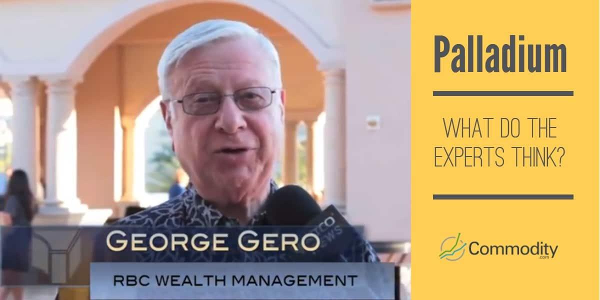 Palladium expert George Gero