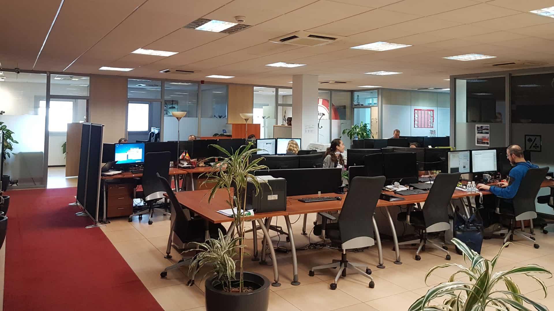 Playtech Office in Gibraltor via Playtech