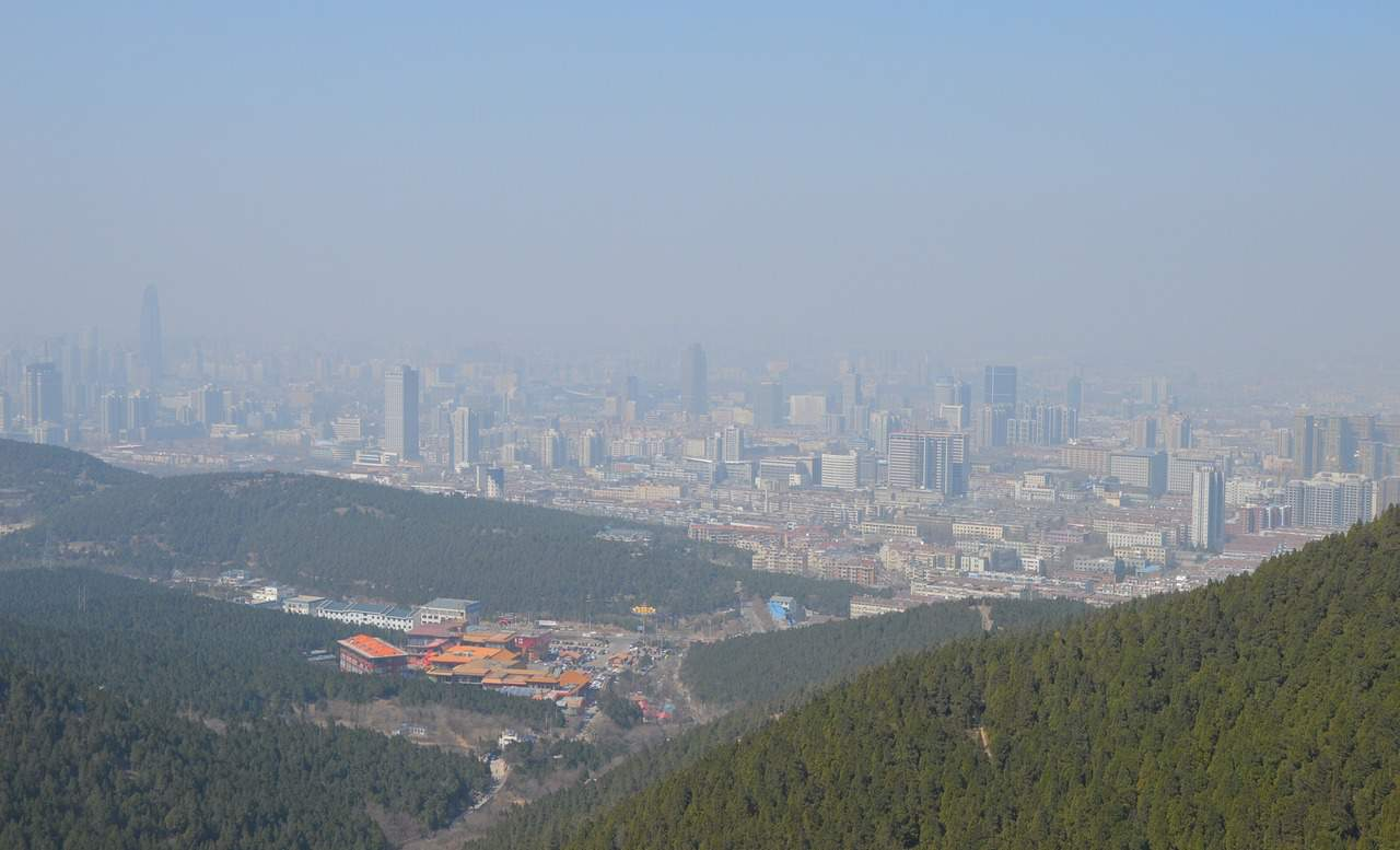 Pollution in China via Pxhere