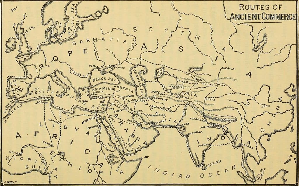 Routes of Ancient Commerce
