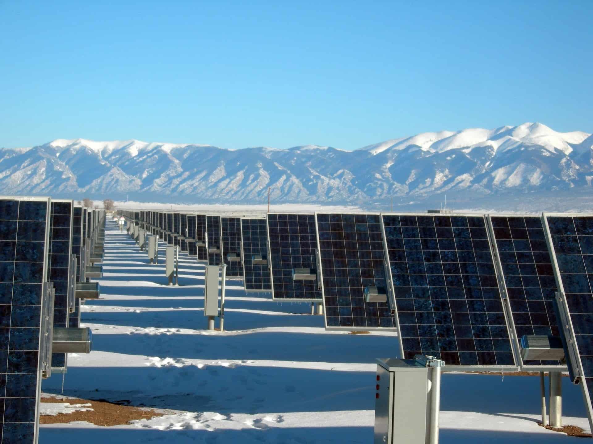 Solar Panel Array via Pexels