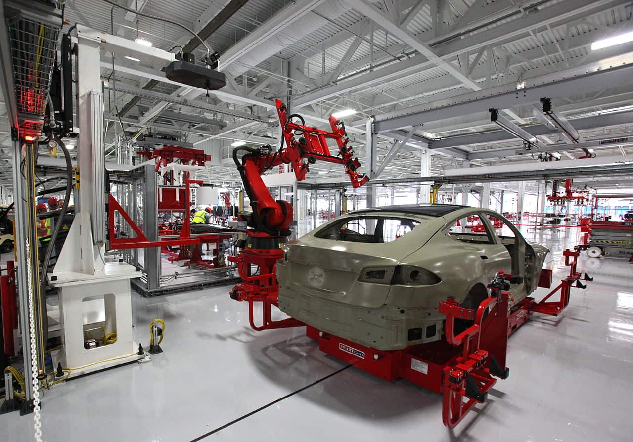 Tesla Auto Bots via Steve Jurvetson on Wikimedia