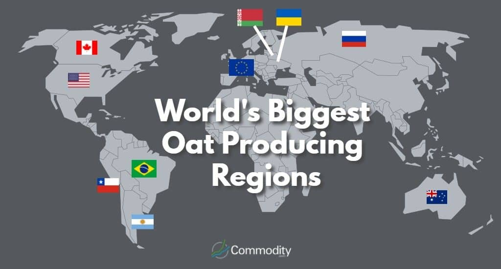 World's Biggest Oat Producing Regions