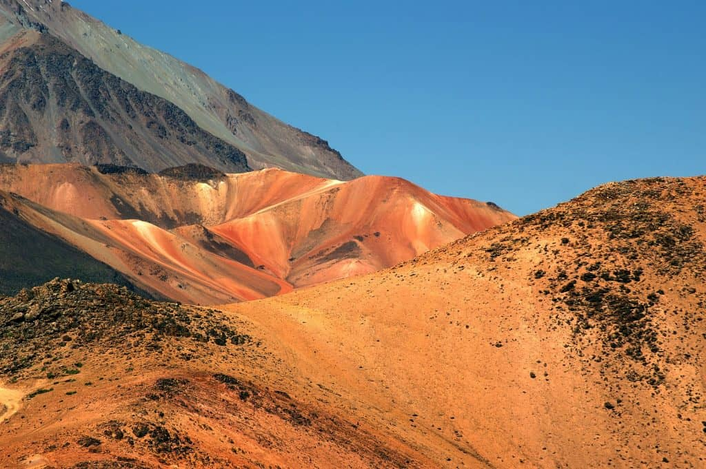 Iron Ore in the Mountains of Peru