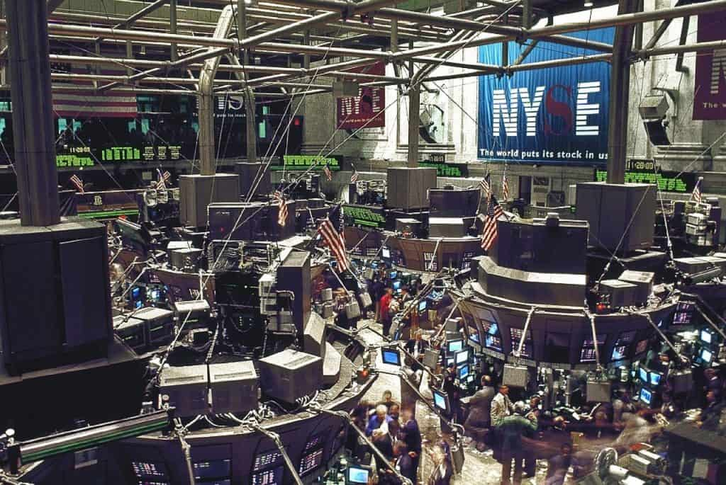 Traditional Trading Floor