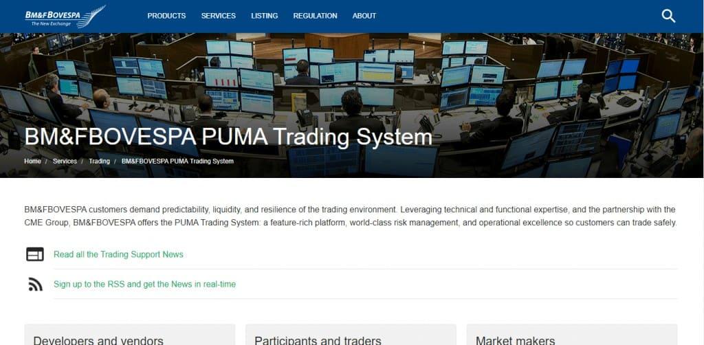B3 PUMA Trading Systems