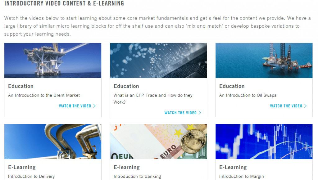 ICE Learning Catalog