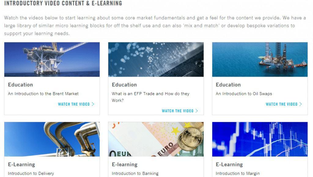 ICE Learning Catalog
